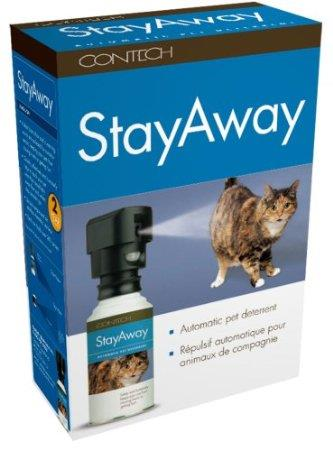 A device to keep cat out of room