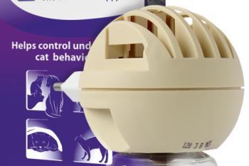 Calming cat pheromones. FeliWay plug-in. diffuser.