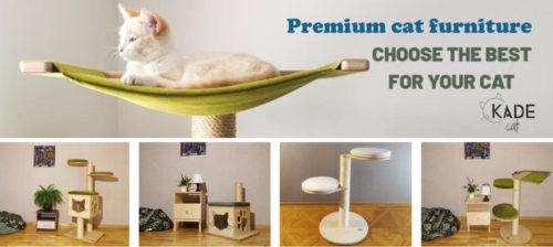 premium cat furniture from KadeCat